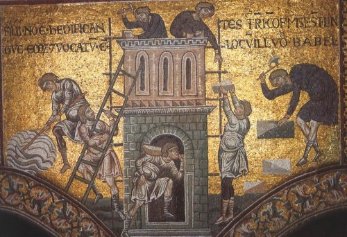 12th century mosaics from Monreale Catherdral, Sicily, 2011